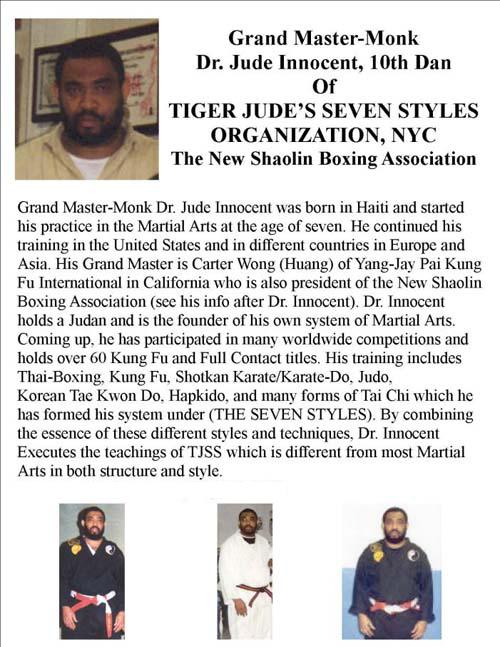 Lost Legacy MMA FL Lineage Tiger Jude