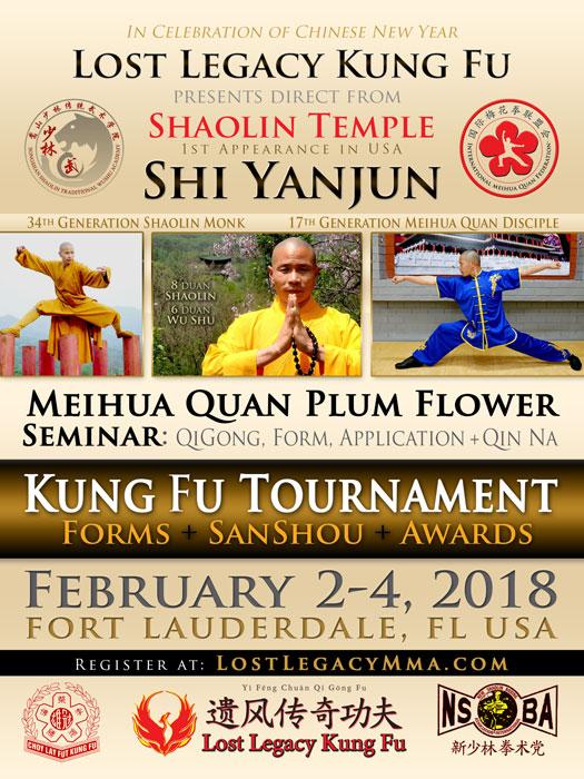 Meihua Quan Kung Fu Tournament FL Feb 2018
